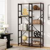 Baddesley 70.8 H x 39.4 W Metal Etagere Bookcase by 17 Stories