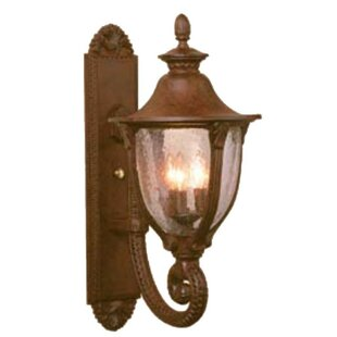 Savings Phillipstown 3-Light Outdoor Sconce By Alcott Hill