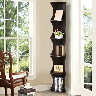 Maiden Lane 5 Shelve Corner Bookcase