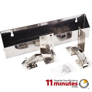 Hardware Resources Stainless Steel 2 Piece Tip Out Tray Set
