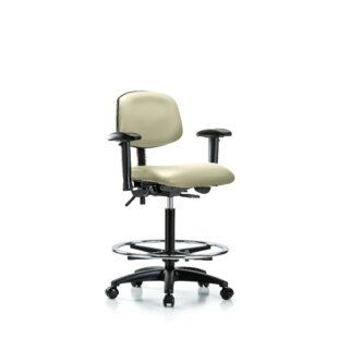 Noah Ergonomic Drafting Chair by Symple Stuff 2019 Sale