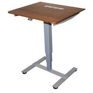 Sit Stand Electric Portable Presentation Standing Desk by Fräsch Coupon