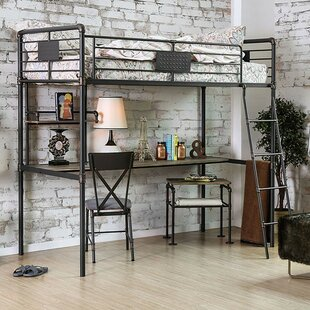 Reviews Garlington Twin Loft Bed by Harriet Bee Reviews (2019) & Buyer's Guide