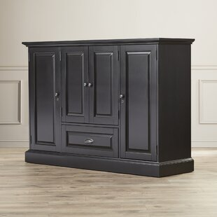 Darby Home Co Hopewell Bar Cabinet with Wine Storage