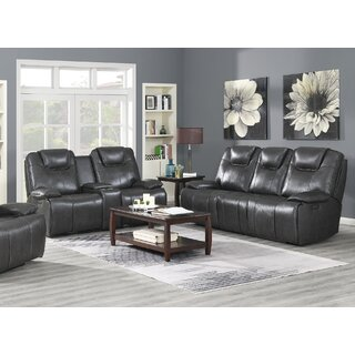 Almada Leather Reclining Configurable Living Room Set by Latitude Run SKU:BA641957 Details