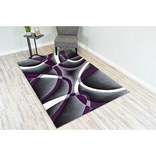 Purple And Grey Area Rug Wayfair Ca