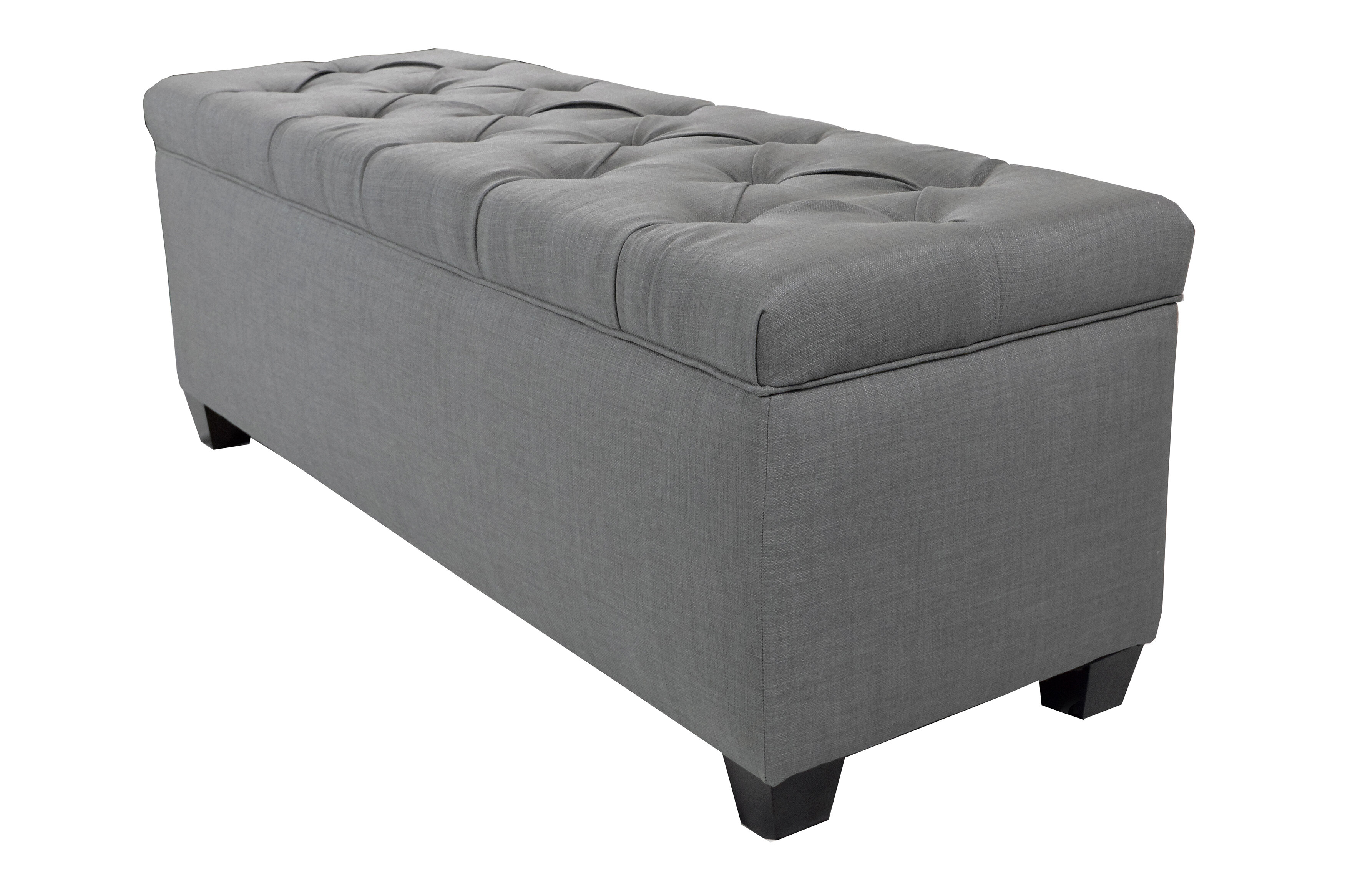 Admirable Heaney Diamond Tufted Upholstered Storage Bench Gmtry Best Dining Table And Chair Ideas Images Gmtryco