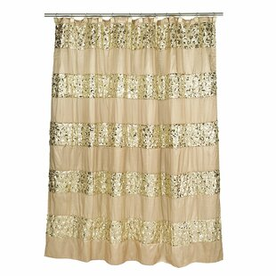 Latrobe Bath Bedazzled Bling Single Shower Curtain