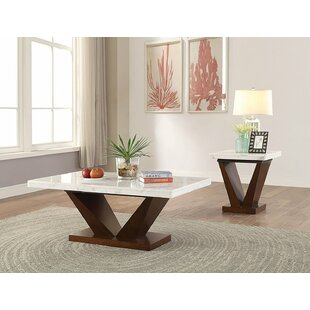 Read Reviews Todd Creek 2 Piece Coffee Table Set By Brayden Studio
