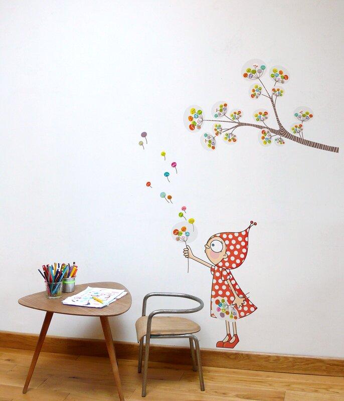 ADZif Ludo Zen Garden Wall Decal Reviews Wayfair