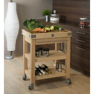 Double Stages Kitchen Island By Symple Stuff