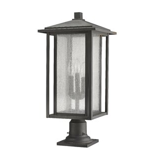 Hungate 3-Light Outdoor Pier Mount Light