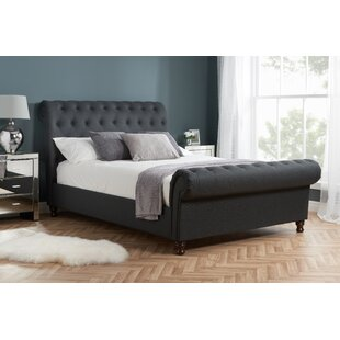 Gaskell Upholstered Sleigh Bed By Ophelia & Co.