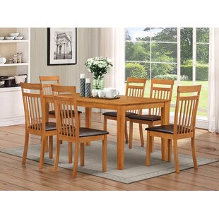 Elisa Dining Set With 6 Chairs By Gracie Oaks