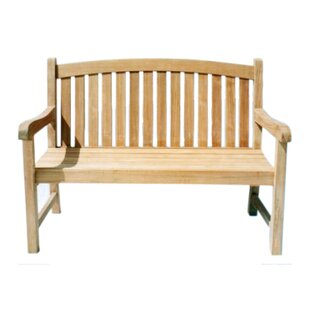 Captain Teak Garden Bench