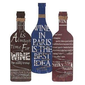 Weinflaschenhalter für 3 Fl. von Inart