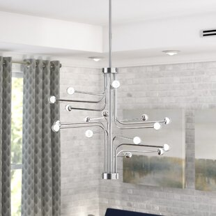 Brayden Studio Dittrich 16-Light LED Chandelier