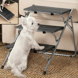 Folding 3 Step Pet Stairs