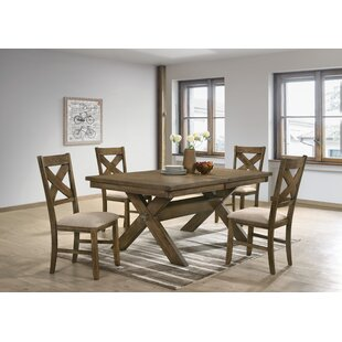 Poe 5 Piece Extendable Dining Set Gracie Oaks