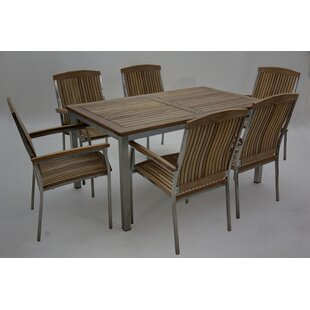 Marx 6 Seater Dining Set By Ebern Designs