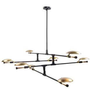 Artcraft Lighting Aventura 8-Light Sputnik Chandelier