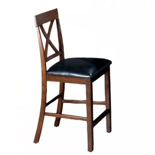 Andino Wooden X Back Bar Stool (Set Of 2) by DarHome Co New Design