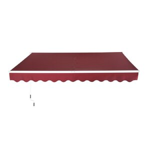 13.12ft. W x 8.2ft. D Awning