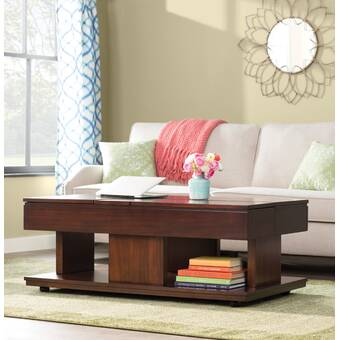 Castrejon Coffee Table With Storage Reviews Birch Lane