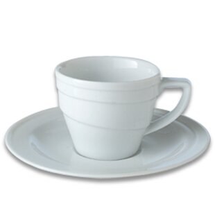 Eclipse Espresso Cup with Saucer