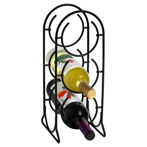 Horseshoe 3 Bottle Tabletop Wine Rack by ..