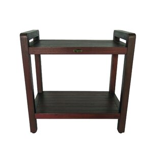 Outdoors Ergonomic Teak Side Table