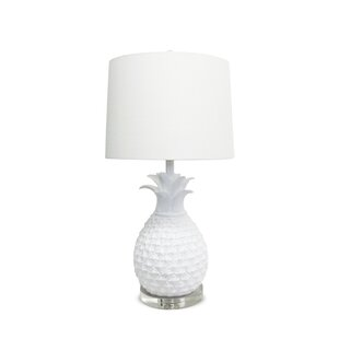 Compare prices Babette Pineapple 1-Light Table Lamp By Bayou Breeze