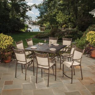 Doucette 9 Piece Bar Height Dining Set