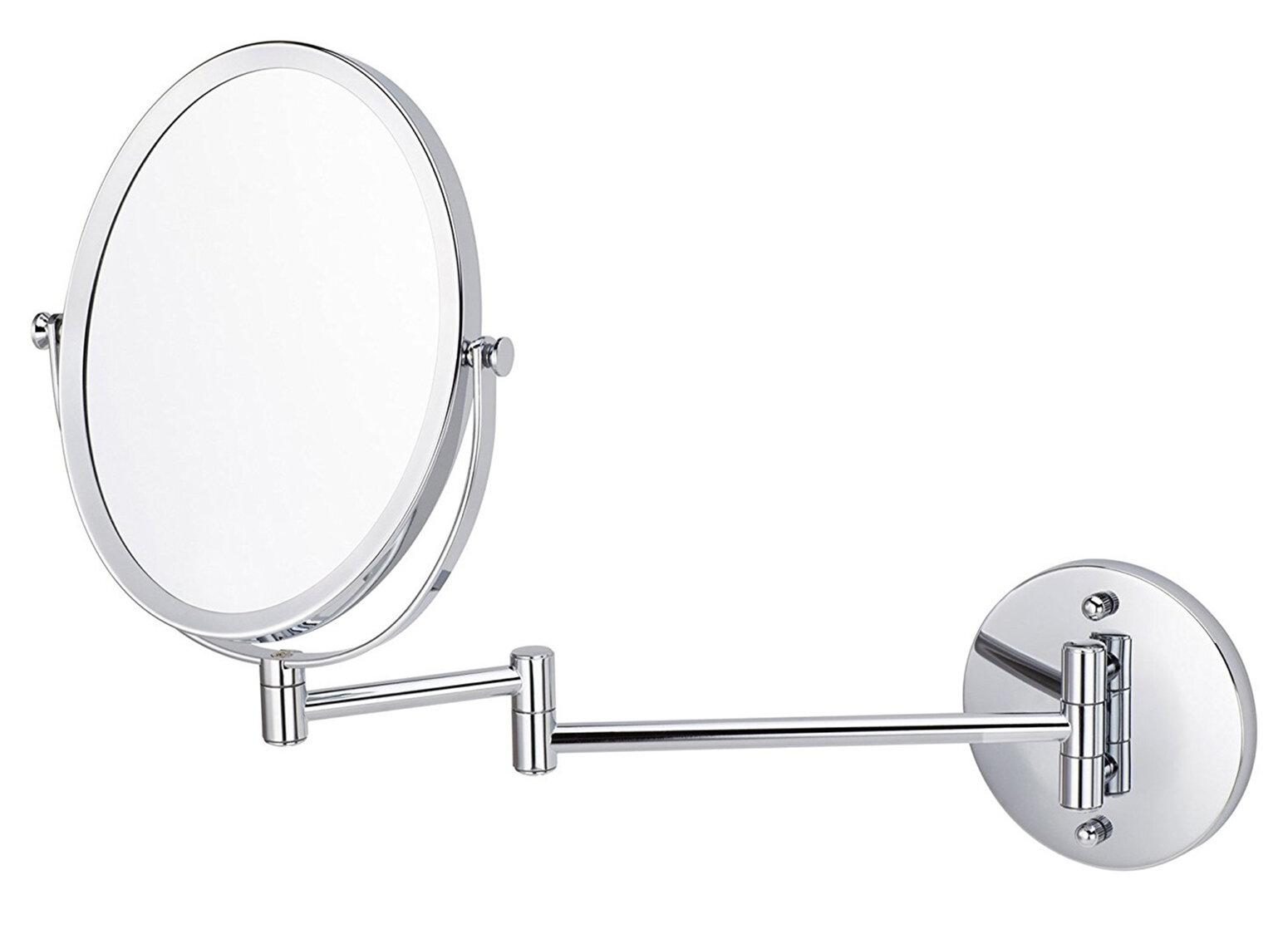 Parkins Oval Wall Mount Magnifying Vanity Mirror