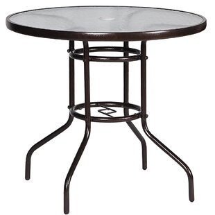 Kiely Glass Dining Table by Ebern Designs