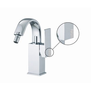 Fima by Nameeks Brick Single Handle Horizontal Spray Bidet Faucet with Swivel Spout