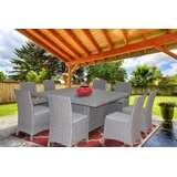 Dutil 9 Piece Dining Set with Cushions