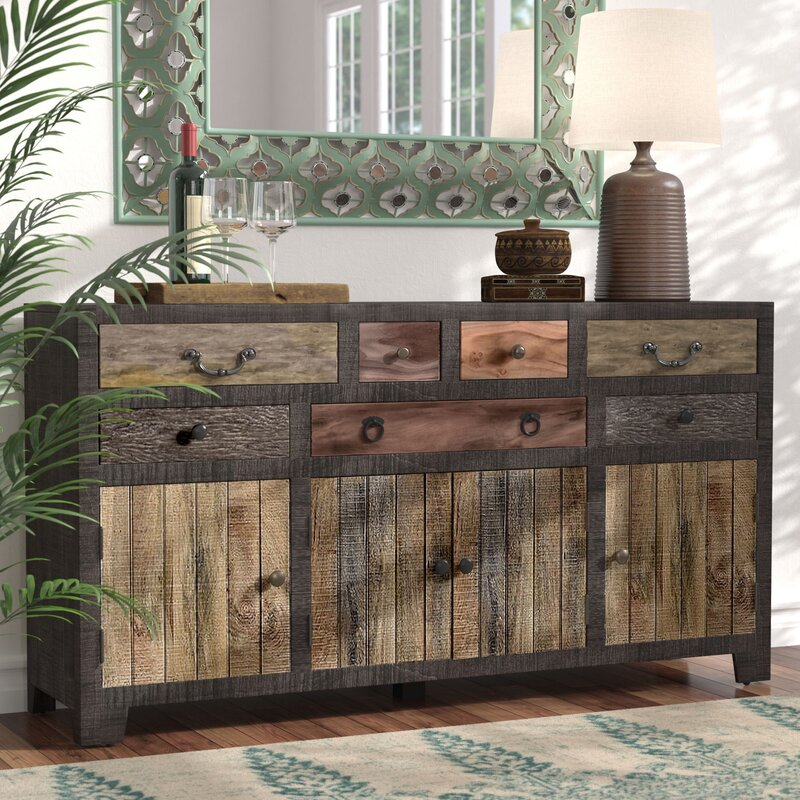 Moultry 7 Drawer 4 Door Sideboard
