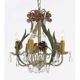 Ophelia & Co. Jacinto 4-Light Candle Style Chandelier