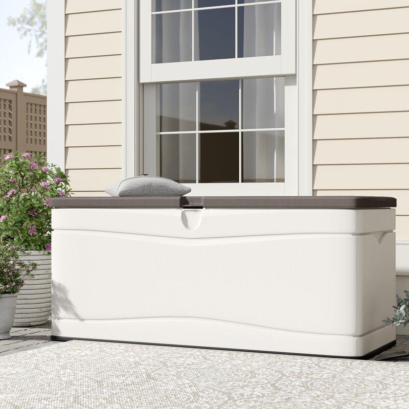 Lifetime 130 Gallon Plastic Deck Box