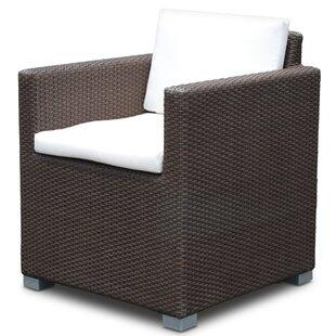 Brayden Studio Westcott Patio Dining Chair with Cushion