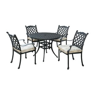 Kipling 5 Piece Dining Set with Cushion