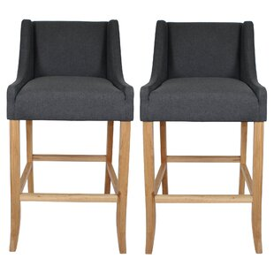 Othello 74cm Barstool (Set Of 2) By August Grove