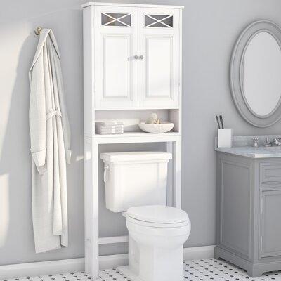 coddington 25 w x 68 h over the toilet storage