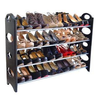 4 Tier 20 Pair Shoe Rack By Maison Condelle