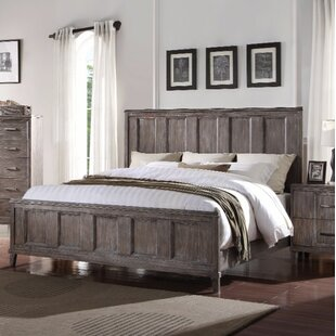 Baldwin Sophisticated Wooden Queen Panel Bed by Gracie Oaks