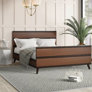 Kulikowski Mid Century Queen Platform Bed by Mercury Row Today Only Sale