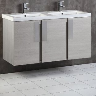 48 Double Bathroom Vanity Set by Bellaterra Home