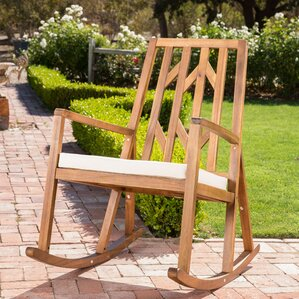 Brayden Studio Hillside Avenue Rocking Chair