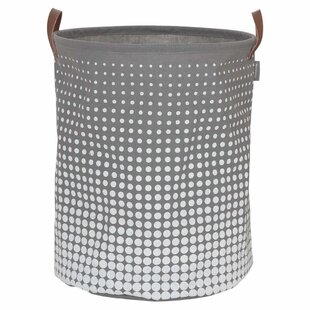 Sealskin Laundry Basket By August Grove